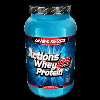 Aminostar Whey protein Actions 85 2000 g Aminostar, s.r.o.