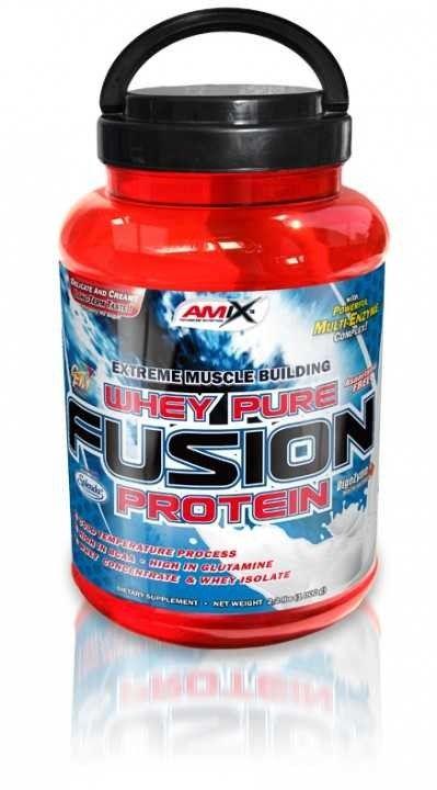 Výsledek obrázku pro Amix - Whey Pure Fusion Protein 2300 g.