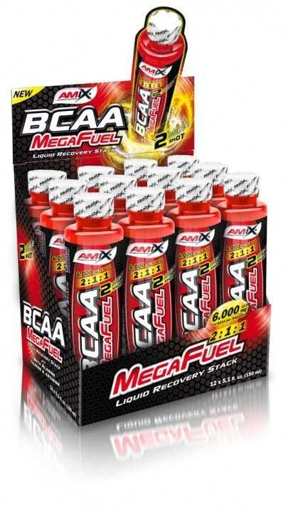 Amix BCAA MegaFuel 6000 12 x 150 ml Amix Czech Distribution