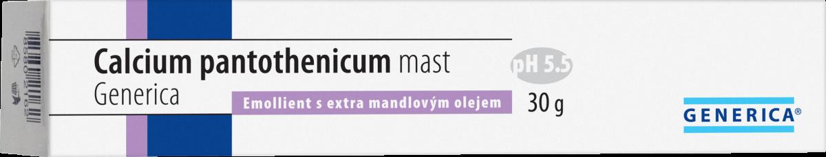 Calcium pantothenicum mast Generica 30g Generica Bohemia spol. s r.o.