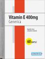 Generica Vitamin E 400 mg 60 tablet