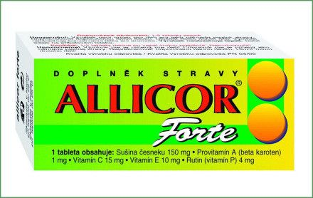 Allicor-forte 60 tablet Naturvita, a.s.