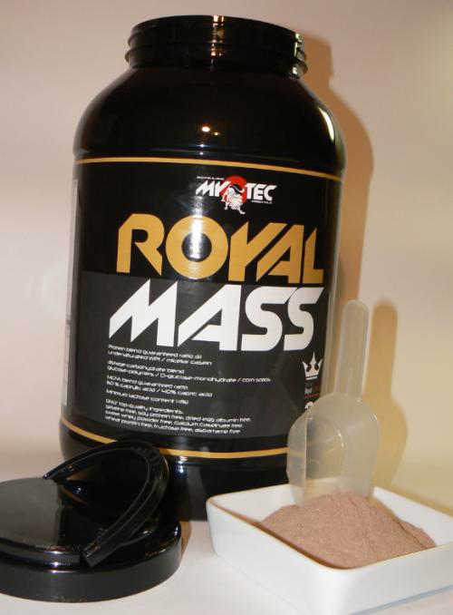 dve odměrky Royal Mass
