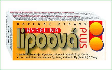 Naturvita Kyselina lipoová Plus 60 tablet Naturvita, a.s.