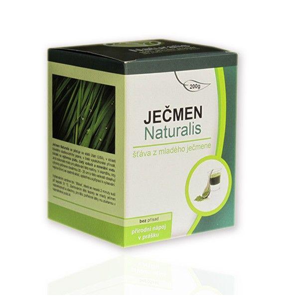 Naturalis Mladý ječmen sušená šťáva 200g Organic By Nature Inc.