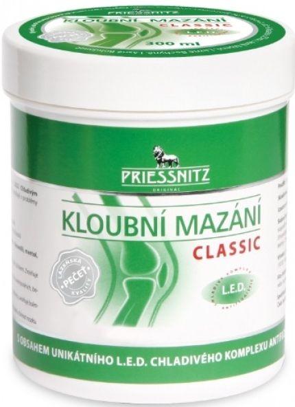 Priessnitz Classic Kloubní mazání rychlá úleva pro klouby 300 ml Simply You Pharmaceuticals a.s