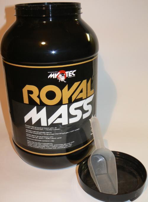 Royal Mass 3 kg balení v plastové dóze