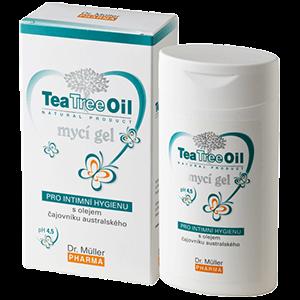Tea Tree Oil gel pro intimní hygienu 200 ml Dr. Müller Pharma s.r.o.