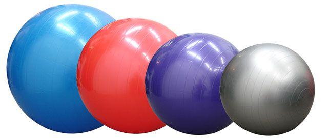 ACRA Míč gymnastický (gymball) 550 mm Acra s.r.o.