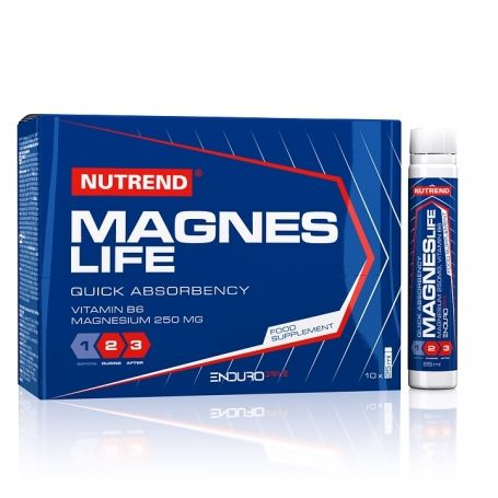 Nutrend Magneslife 10 x 25 ml NUTREND D.S., a. s.