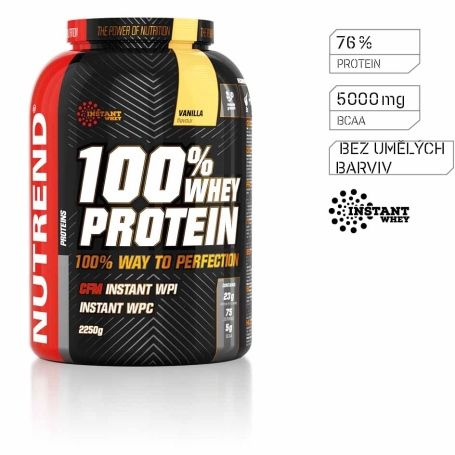 Nutrend 100% WHEY PROTEIN 2250 g NUTREND D.S., a. s.