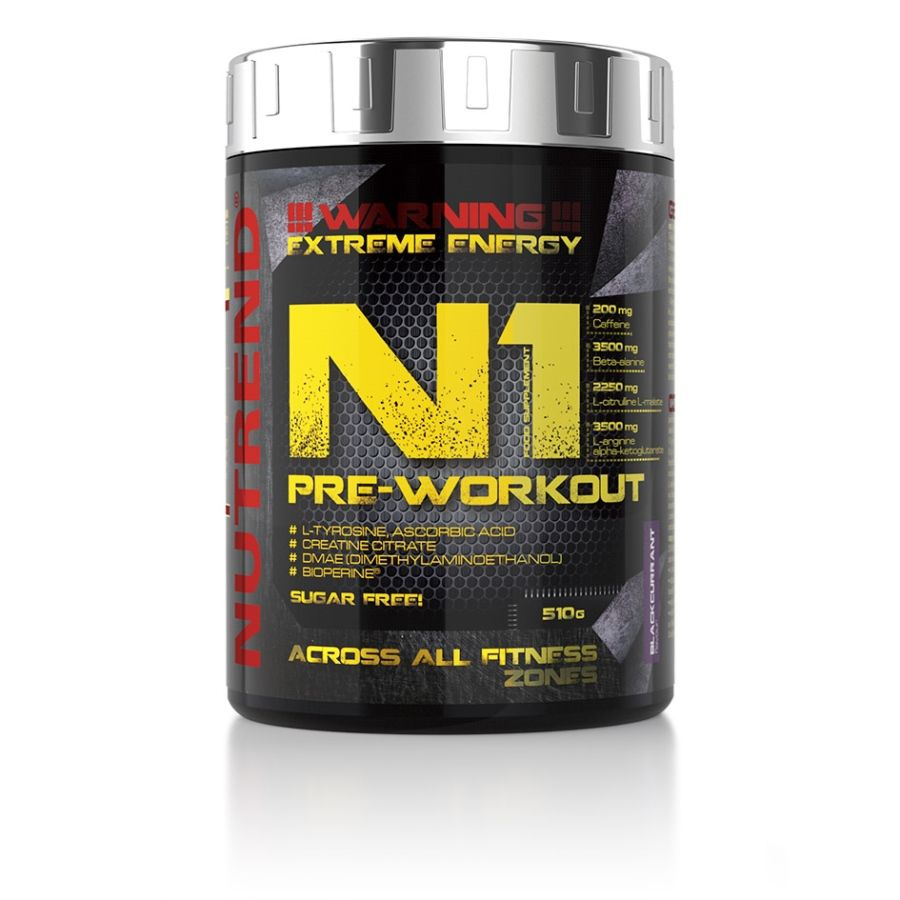 Nutrend N1 PRE-WORKOUT 510 g NUTREND D.S., a. s.