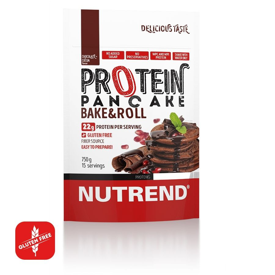 NUTREND PROTEIN PANCAKE 750g NUTREND D.S., a. s.