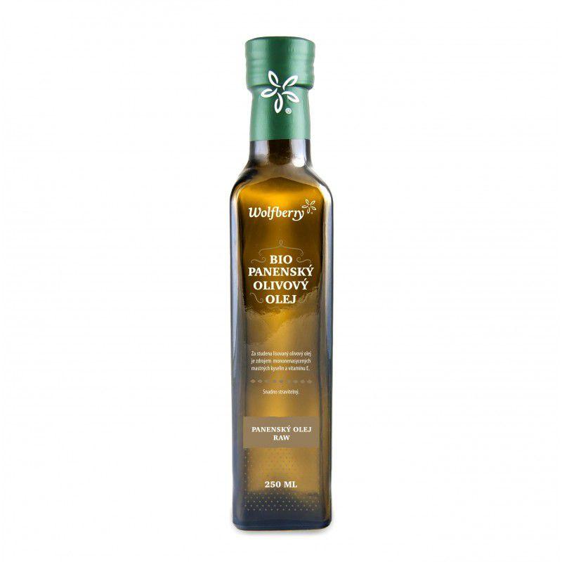 Wolfberry Olivový olej panenský BIO 500 ml - sleva, exp. 1.2018